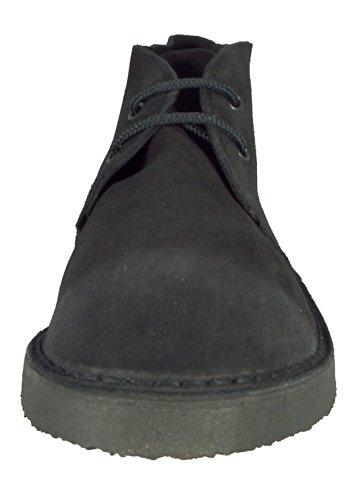 Roamer - Botas de cuero para hombre negro - negro