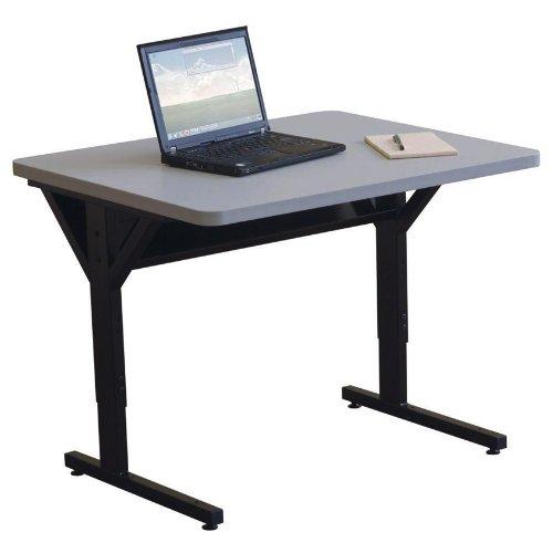 (Balt Brawny Adjustable Height Mobile Training & Maker Space Table, 36