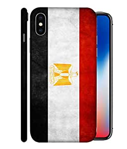 ColorKing Football Egypt 07 Multicolor shell case cover for Apple iphone X