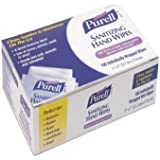 MCK42731800 - Sanitizing Skin Wipe Purell Individual Packet Alcohol (Ethyl) Alcohol Scent