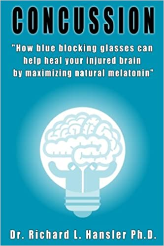 Amazon.com: Concussion: How blue blocking glasses can help heal your injured brain by maximizing natural melatonin (9781539867524): Dr. Richard L. Hansler: ...