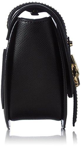 Cavalli Damen Incognito 002 Schultertaschen, 17x16x7 cm Mehrfarbig (White/Black B20)