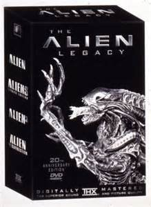 Alien 20th Anniversary Collection (Alien, Aliens Special Edition, Alien 3, Alien Resurrection, The Alien Legacy) [VHS]