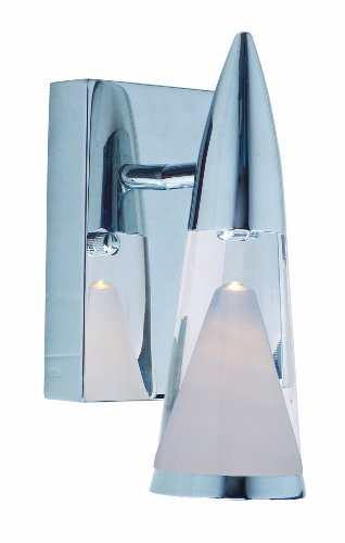 ET2 Lighting 22471 FunL Wall Sconce, Polished Chrome Finish, 4.25 by 9-Inch (Sconce Wall Zoo)