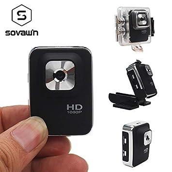 Amazon.com : sovawin Mini Camera cmos Night Vision Mini Camera 1080p Full hd Video Recorder Portable dvr 12mp Sport Waterproof Wide Angle : Camera & Photo