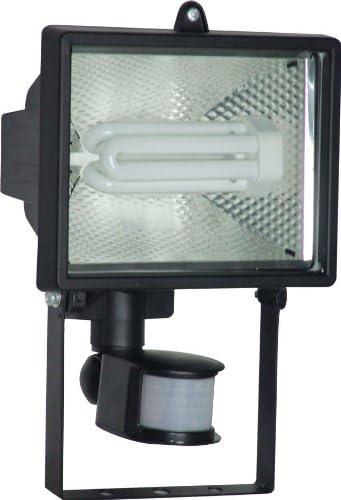 Electraline 63025 Eco Solar Strahler mit Bewegungsmelder schwarz