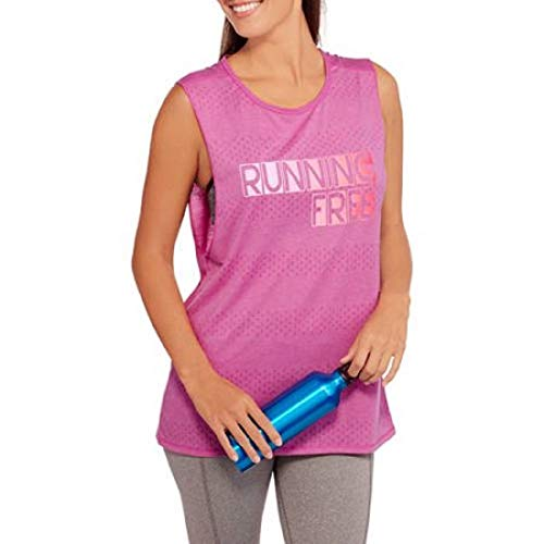 Danskin Now Women's Athletic Muscle-Tank Orchid Scoop-Neck Sleeveless Size X-Large