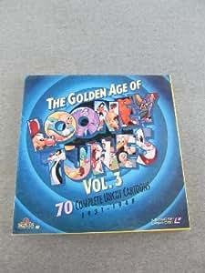 The Golden Age of Looney Tunes Vol. 3 A 5-Disc Set Laser Disc [70 Complete Uncut Cartoons 1931 - 1948]