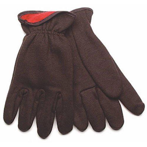 - KINCO 820RL-L Men's 10 oz. Jersey Red Lined Gloves, Large, Red/Black