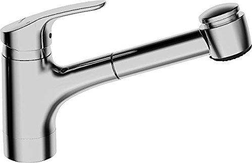 Hansa sink single lever mixer Hansamix 0138 retractable spray chrome 1382283