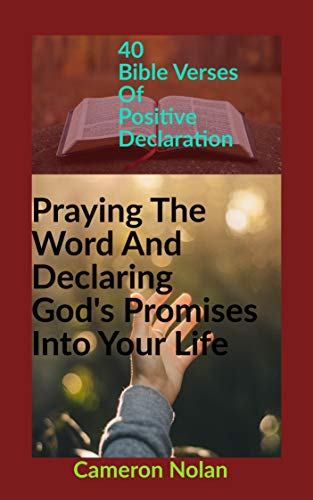 PRAYING THE WORD AND DECLARING GOD'S PROMISES INTO YOUR LIFE: 40