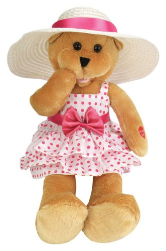 "Chantilly Lane Doris Bear Sings ""Que Sera Sera"" 17"" Plush from Chantilly Lane"