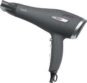 AEG HT 5580 - Secador profesional, color gris