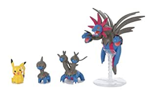 Pokemon Plastic Model Collection Sazandora Evolution Set (Plastic Modelling kit) [JAPAN] (japan import)