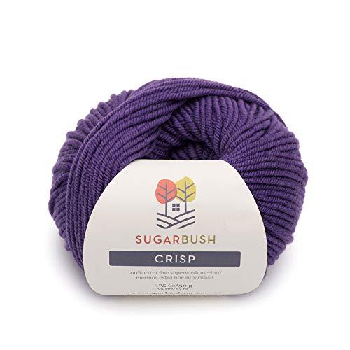 Sugar Bush Yarn Crisp Double Knitting Weight, Purple Prairie