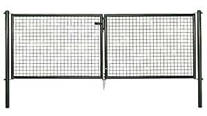 GAH.ALBERTS 60290 1 - Verja de hoja doble (300x100cm)
