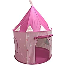 SueSport Girls Princess Castle Play Tent, Pink
