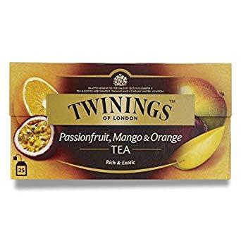 Twinings Passionfruit, Mango and Orange Tea (International Blend) 50g - 25 Envelopes