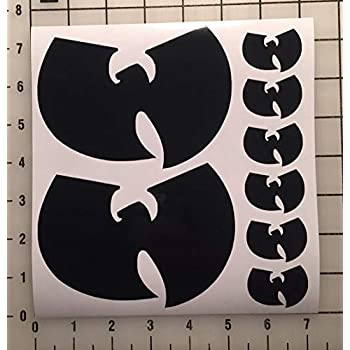 Amazon Com Wu Tang Clan Logo Sticker Home Amp Kitchen