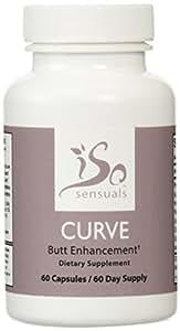 IsoSensuals CURVE   Butt Enhancement Pills (60 Day Supply)
