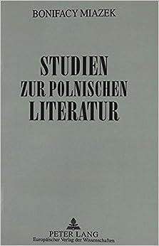 Book Studien Zur Polnischen Literatur