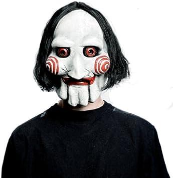 SAW - Jigsaw Puppet Mask (máscara/careta): Amazon.es: Juguetes y juegos