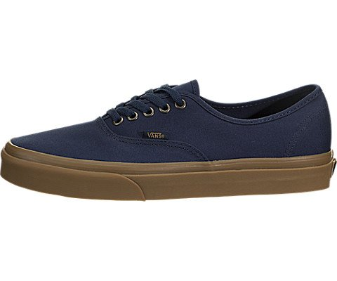 Vans Authentic Sneakers Light Gum/Dress Blues Mens 8.5 -