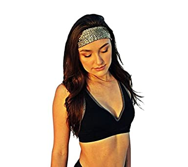 Amazon.com: Shattered de vidrio (Oro) Yoga Diadema, Votado ...