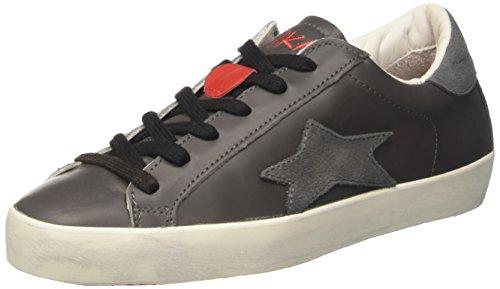 Collo Ishikawa A Grigio Sneaker Low Unisex Basso adulto FrR8rtqwO
