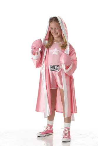 [California Costumes Everlast Boxer Girl Child Costume, Large] (Womens Boxing Costumes)