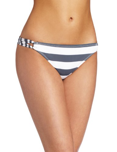 Hobie Women's Sally Sells Seashells Twist Side Hipster, Slate, X-Large -
