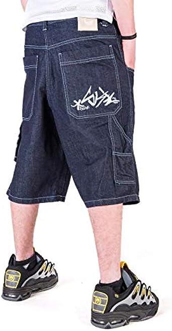 Bermuda BLUESKIN Jeans Baggy THEBLUESKIN Skate Rap Hip Hop