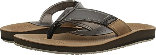 Cobian Men's Movember Flip-Flop, Clay, 10 M US