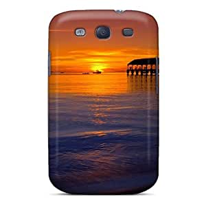 CADike Design High Quality Jetty At Sunset Cover Case With Excellent Style For Galaxy S3