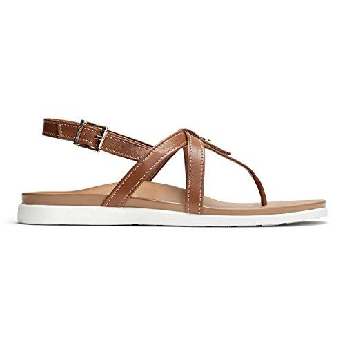 Veranda Leather Vionic Sandals Palm Tan Womens RTTSnqwxf
