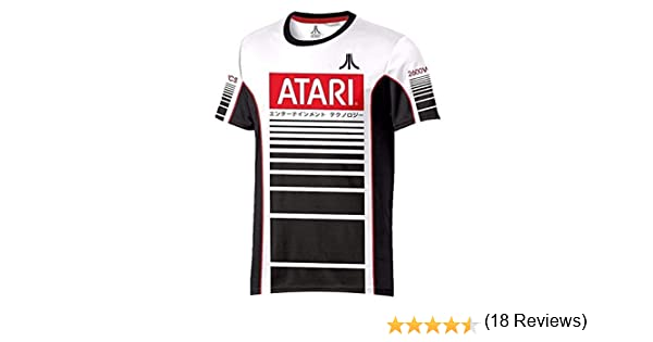 Atari Oficial para Hombre Camiseta de F/útbol Racer Esports
