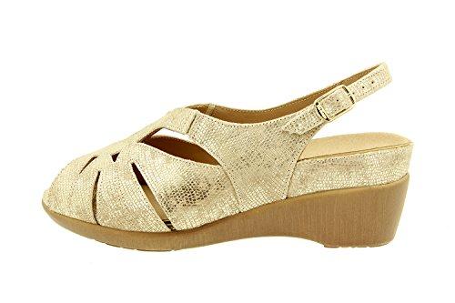 Duna amovible amples sandale 8152 femme confort confortables en semelle Chaussure cuir Piesanto FTU1fP
