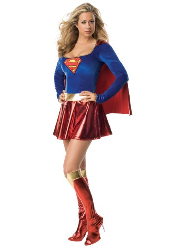 Superman - Sexy Supergirl Costume - X-Small (Supergirl Sexy Costume)