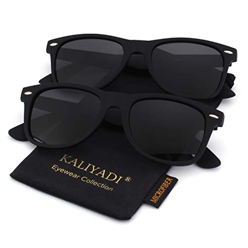 (Unisex Polarized Retro Classic Trendy Stylish Sunglasses for Men Women Driving Sun glasses:100% UV Blocking)