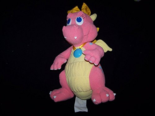 "Playskool Dragon Tales Cassie Talking Light Up 12"" Plush Dragon"