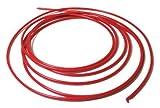Red PE Tubing, 1/8'' O.D. x 10 Ft.