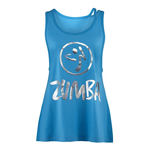 Zumba-Fitness-Love-or-Loose-Me-Tank-Top-X-Small-Blue