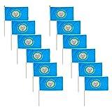Cheap South Dakota Flag 12 x 18 inch (12 PK)