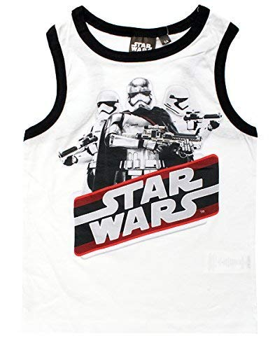 Boys Star Wars Troop Leader First Order Kylo Ren Tank Vest Top Sizes from 4 to 10 Years