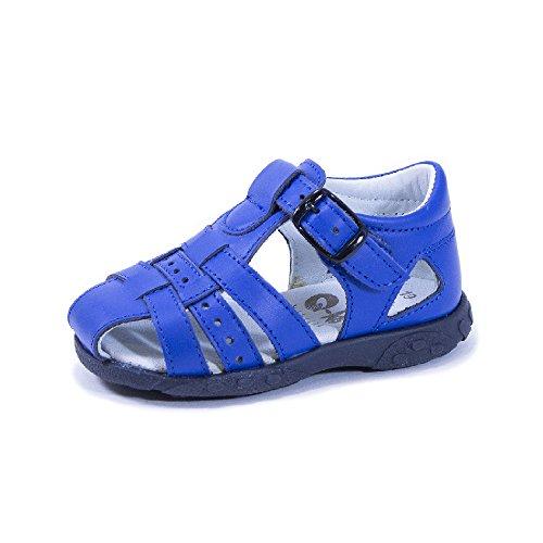QKIS , Sandales pour garçon bleu