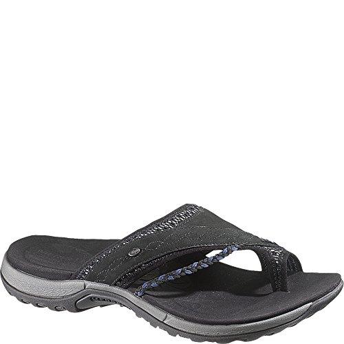 Merrell Women's Hollyleaf Sandal,Black,5 M US - Merrell Womens Casual Sandals