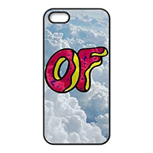 DIY Cover Case with Hard Shell Protection for Iphone 5,5S case with Odd Future lxa#219372