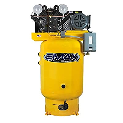 EMAX Industrial Air Compressor - Stationary Pistons EP10V120V3 by EMAX
