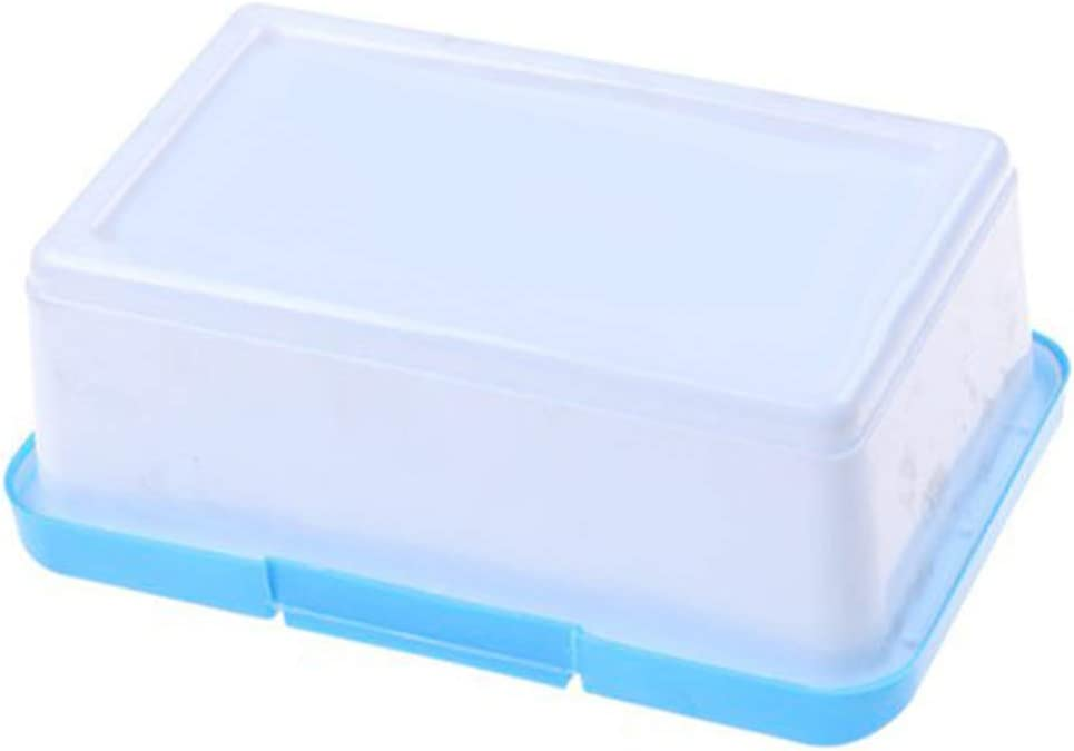toataLOpen Baby Wipes Wet Tissue Box Case Holder Organizer with Buckle Lid Home Travel Car Wipes Storage Case Blue