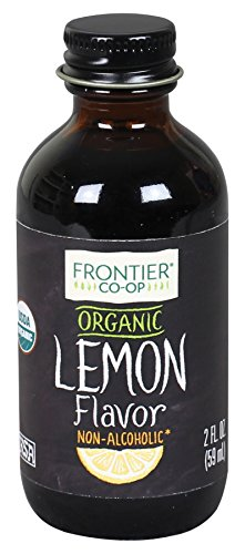 Frontier Co-op Lemon Flavor Organic, Non-Alcoholic, 2 ounce bottle ()